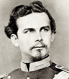 Portrait of Louis II, King of Bavaria --- Image by ?? Stefano Bianchetti/Corbis