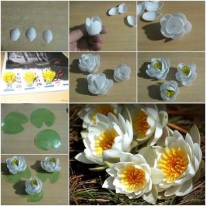 пластмасовеи лилии