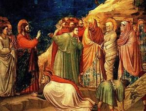 ЛАЗАР исус го съживява