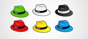 шапките на Боно
