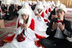 Mass Wedding Ceremony in Bishkek